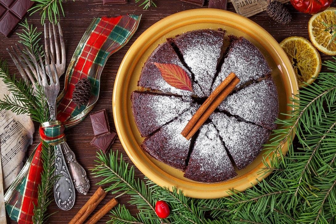 Lekkie świąteczne ciasto