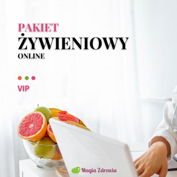 Pakiet żywieniowy online VIP