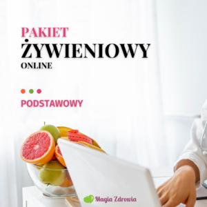 Pakiet żywieniowy online podstawowy