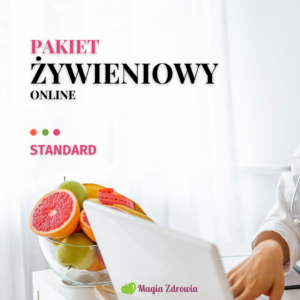 Pakiet żywieniowy online standard